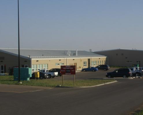 CFB Range Control Facility - Suffield