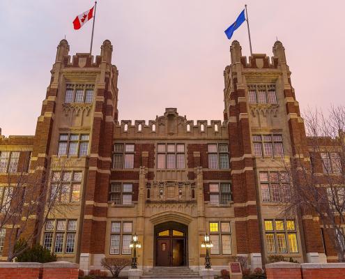 SAIT Heritage Hall Heart Building-Calgary