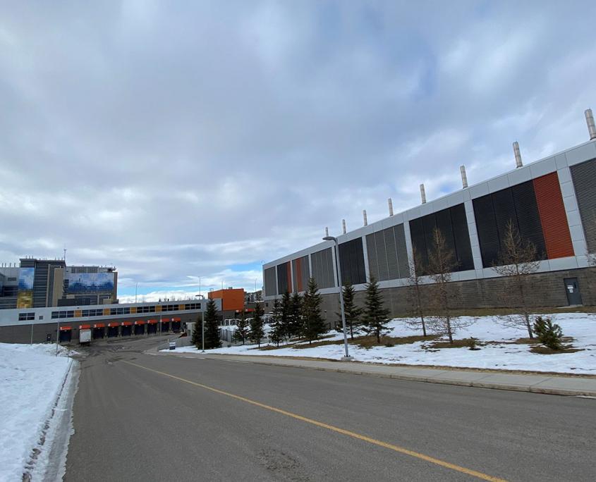 SHC Materials Handling & Power Generation Buildings Calgary